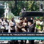 SMJ RAYAKAN HUT TNI KE 75 TINGKATKAN SINERGI MEMBANGUN NEGERI