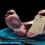 penemuan mayat tanpa identitas mengapung di parit pontianak smjtimes