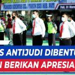 BUPATI APRESIASI PEMBENTUKAN SATGAS ANTIJUDI DAN POLITIK UANG