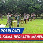 Tingkatkan Sinergi TNI Polri Gelar Latihan Tembak Bersama
