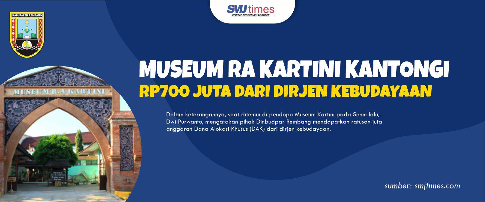 Museum RA Kartini Kantongi Rp700 Juta dari Dirjen Kebudayaan 1