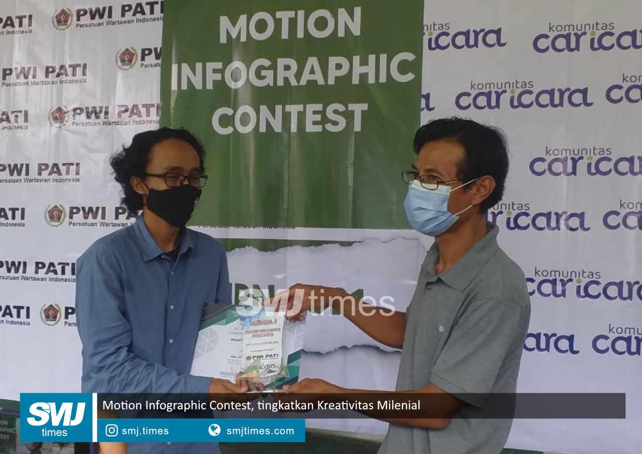 motion infographic contest tingkatkan kreativitas milenial