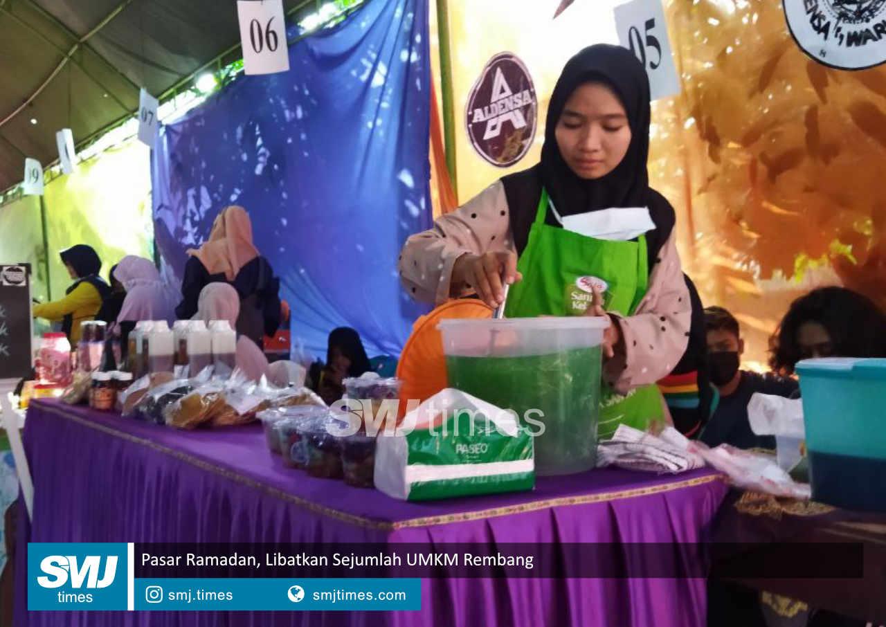 pasar ramadan libatkan sejumlah umkm rembang