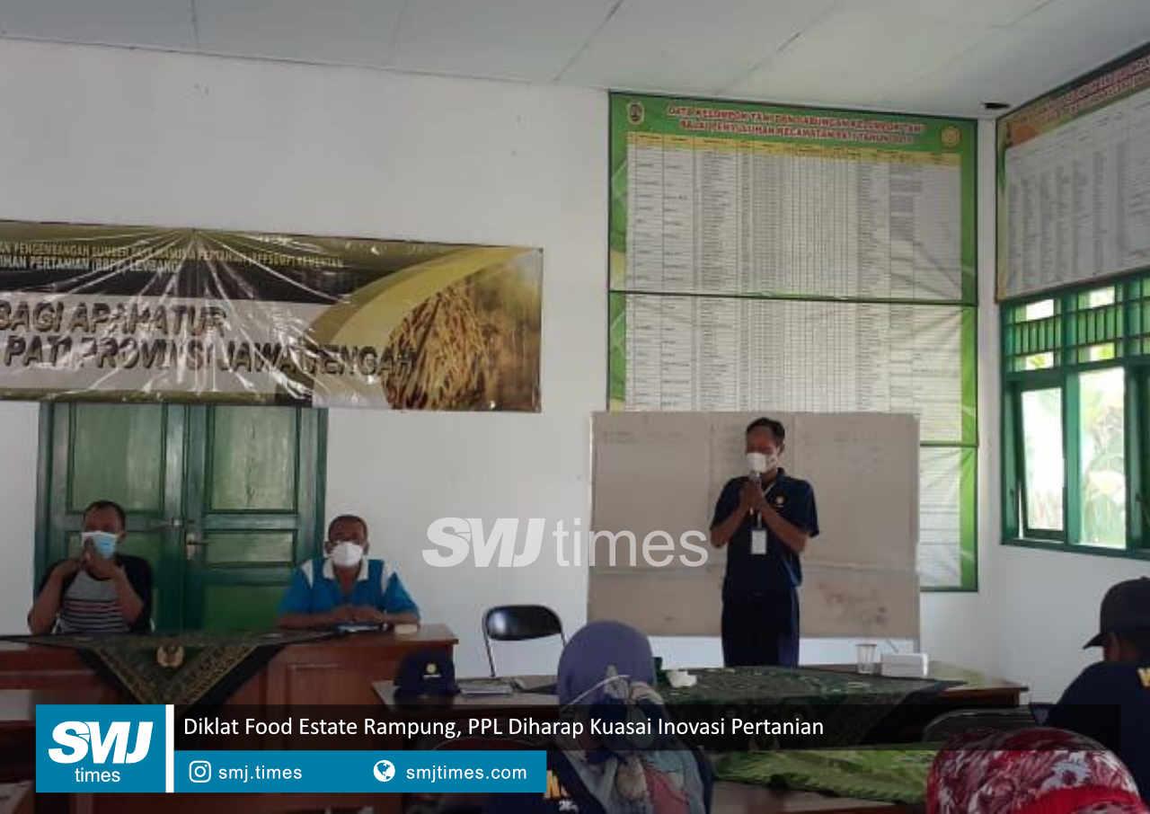 diklat food estate rampung ppl diharap kuasai inovasi pertanian