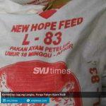 komoditas jagung langka harga pakan ayam naik