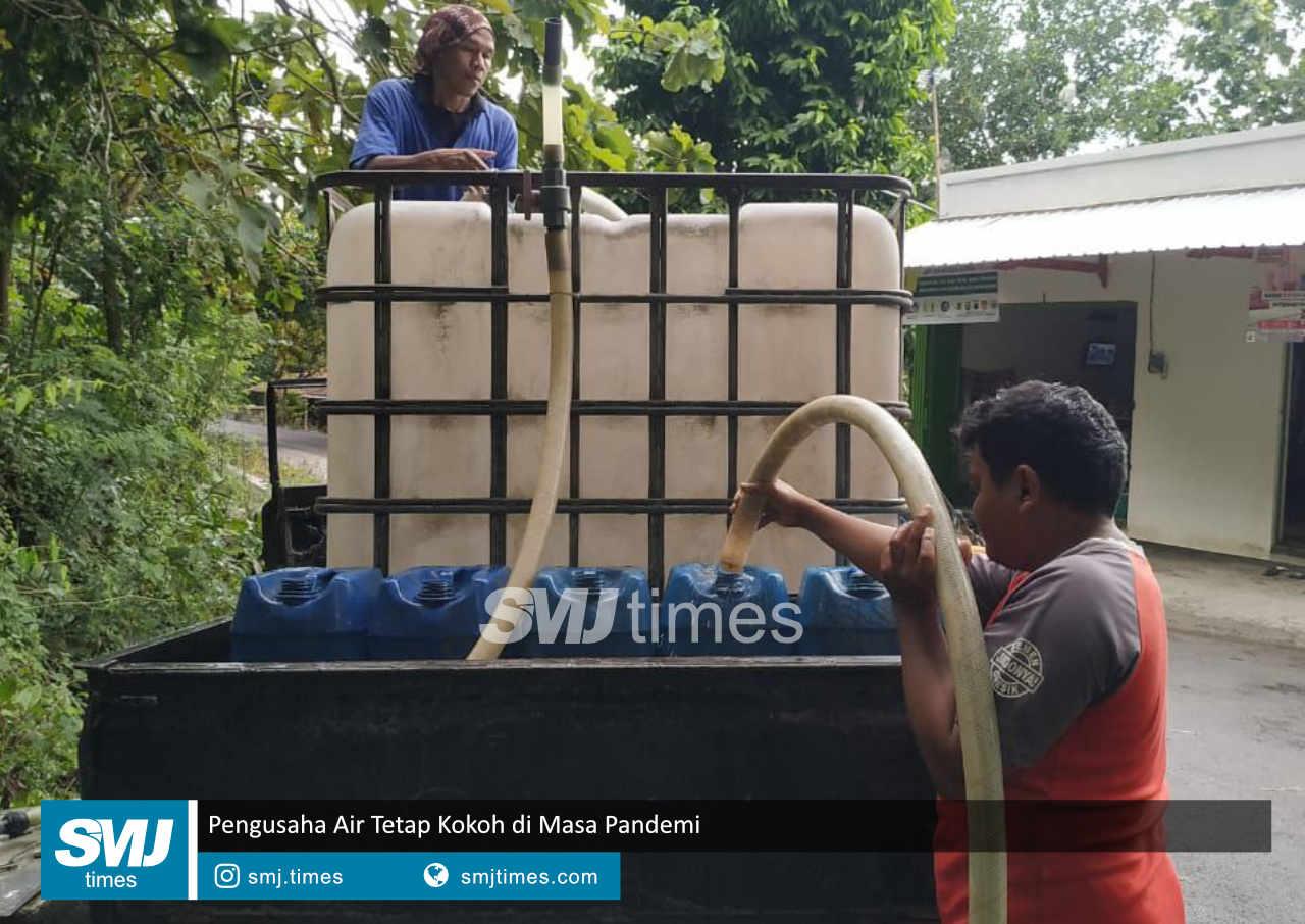 pengusaha air tetap kokoh di masa pandemi
