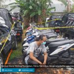 ratusan motor bodong diamankan polres pati imbau warga yang kehilangan datangi markas