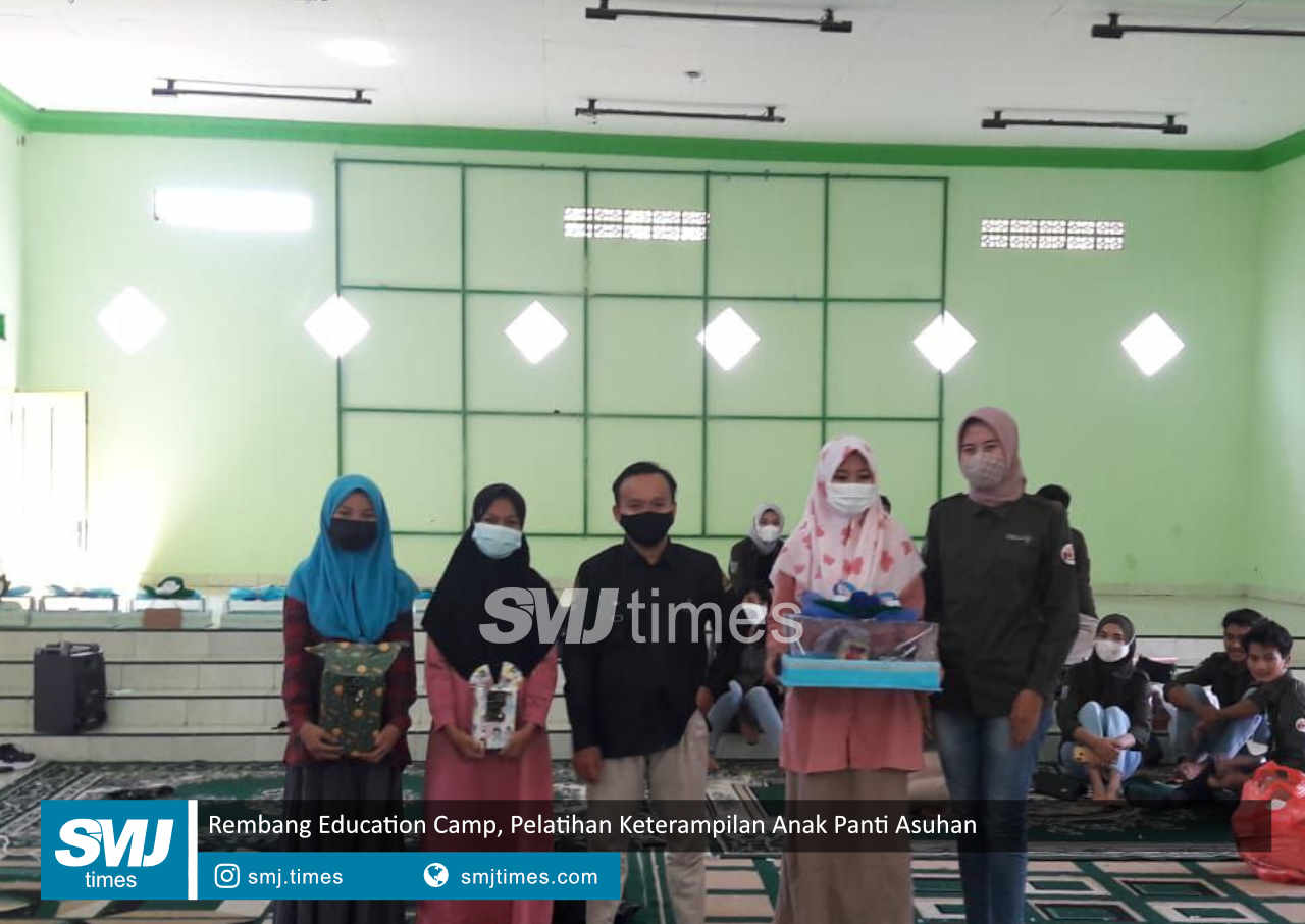 rembang education camp pelatihan keterampilan anak panti asuhan