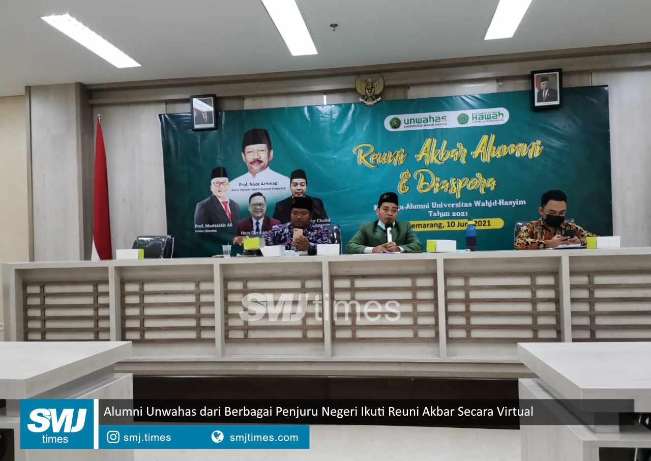 alumni unwahas dari berbagai penjuru negeri ikuti reuni akbar secara virtual