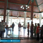 hafidz lantik 97 pejabat kabupaten rembang