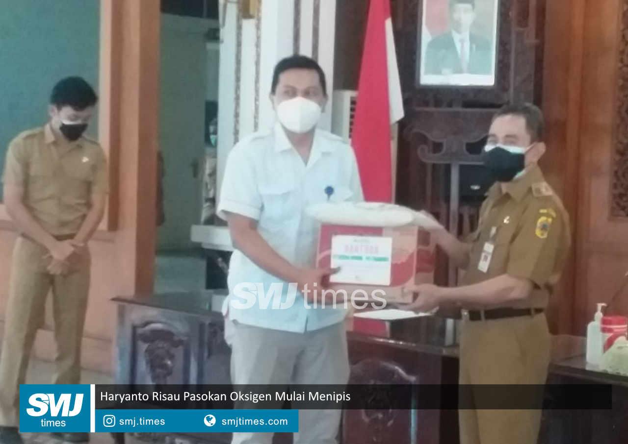 haryanto risau pasokan oksigen mulai menipis