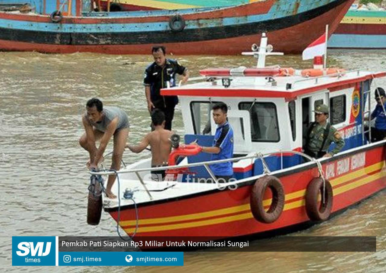 pemkab pati siapkan rp3 miliar untuk normalisasi sungai