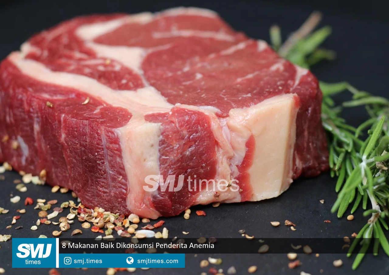 8 makanan baik dikonsumsi penderita anemia