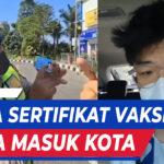 NGEYEL SEORANG PEMUDA MEMAKSA MASUK KOTA SURABAYA TANPA HASIL SWAB NEGATIVE
