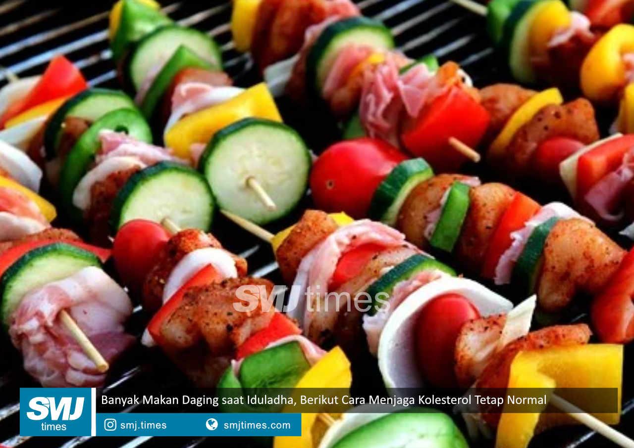 banyak makan daging saat iduladha berikut cara menjaga kolesterol tetap normal