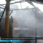 dilalap si jago merah rumah warga tambakromo hangus terbakar
