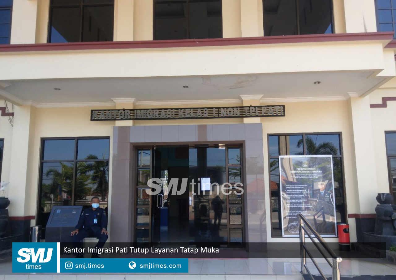 kantor imigrasi pati tutup layanan tatap muka