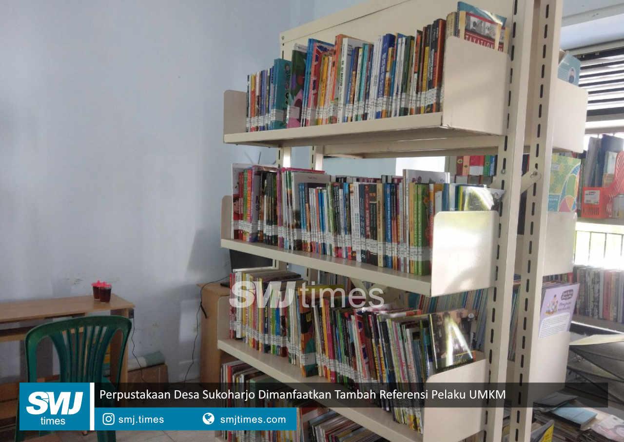 perpustakaan desa sukoharjo dimanfaatkan tambah referensi pelaku umkm