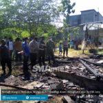 rumah hangus terbakar warga di pucakwangi alami kerugian capai rp100 juta
