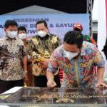 terbesar di banten pemkot tangerang resmikan pasar induk jatiuwung