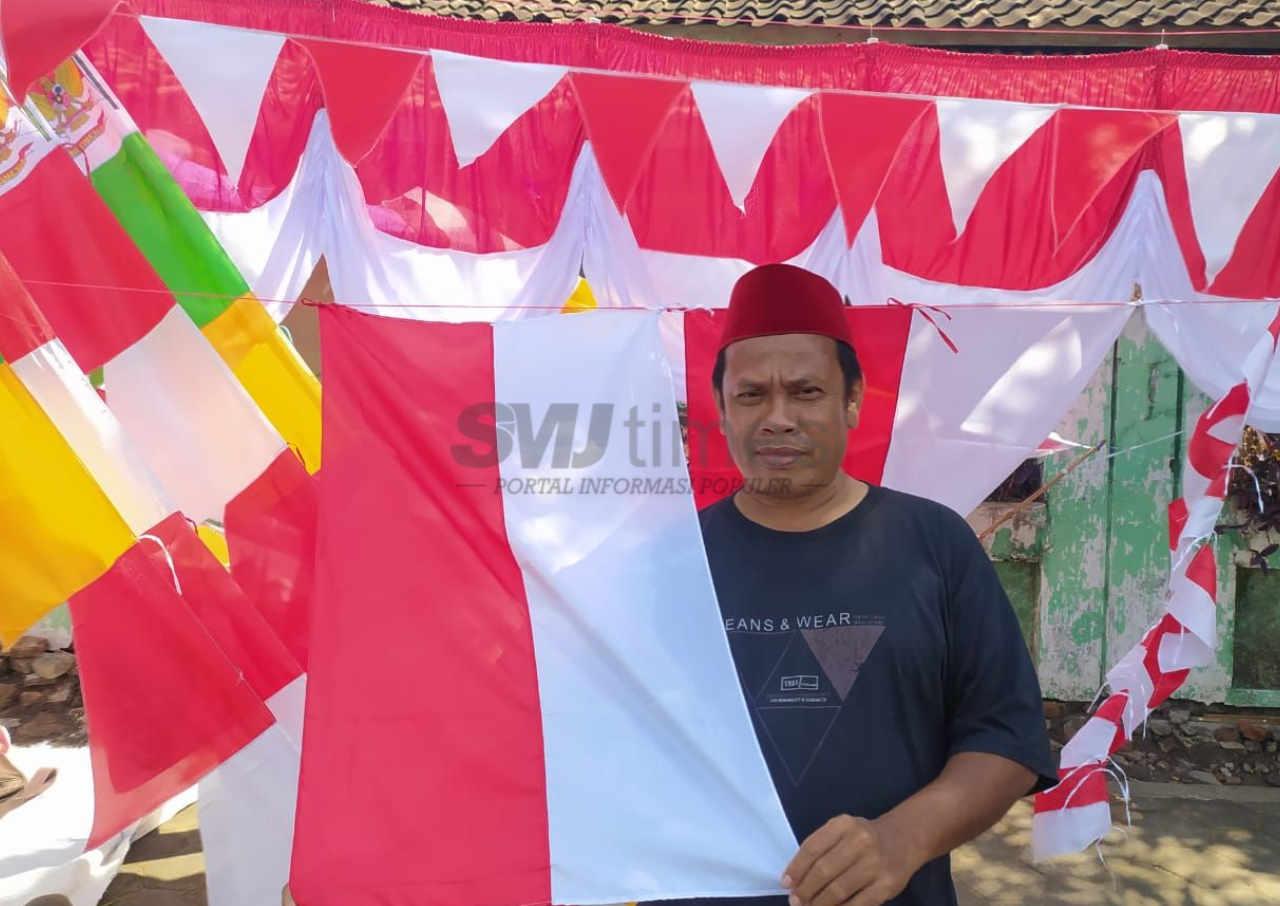 menjelang hari kemerdekaan penjualan bendera anjlok di masa pandemi