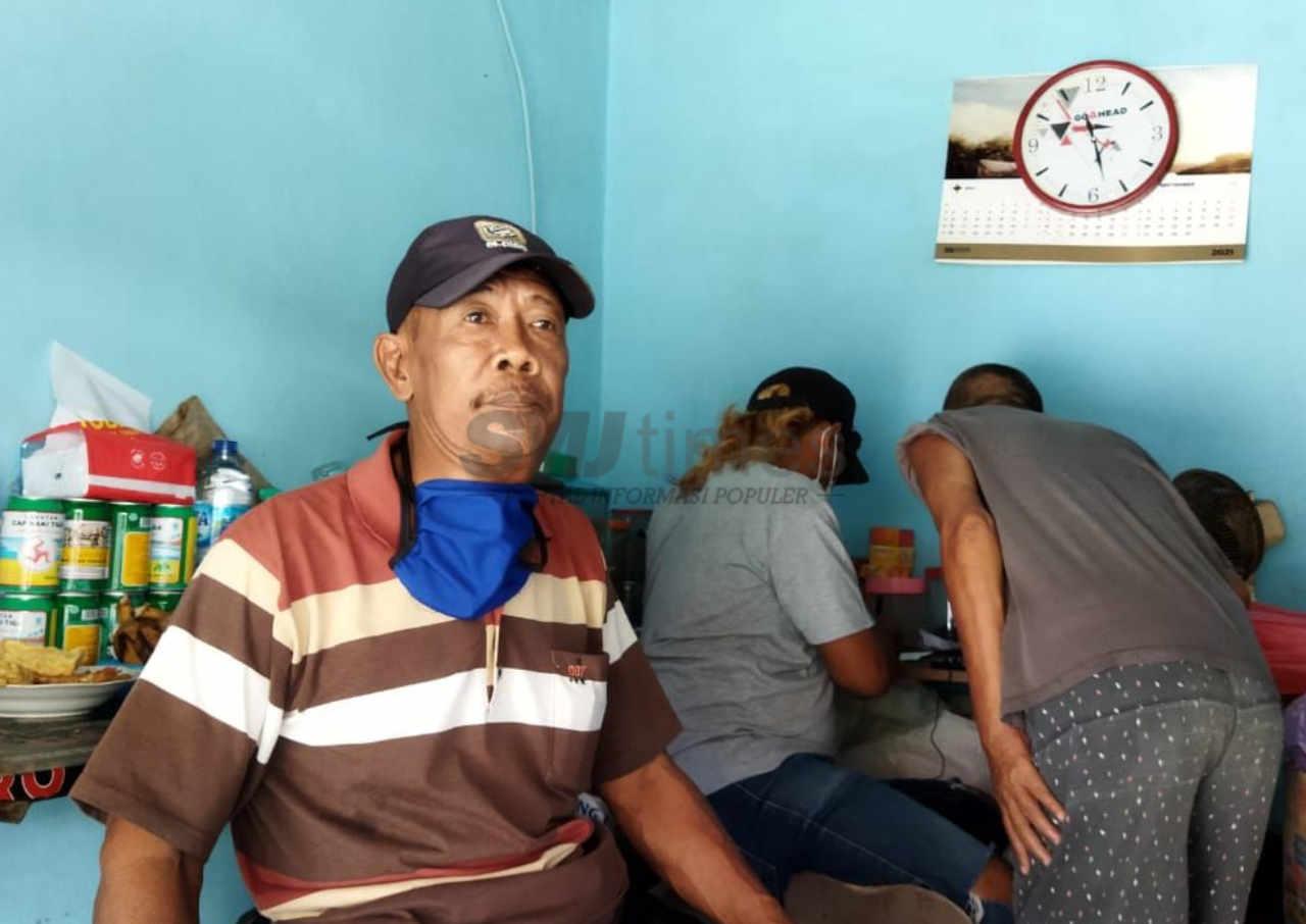 pedagang di terminal pati keluhkan penurunan pendapatan di masa ppkm