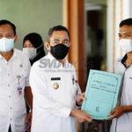 pemkab pati salurkan bantuan kematian ke 160 ahli waris