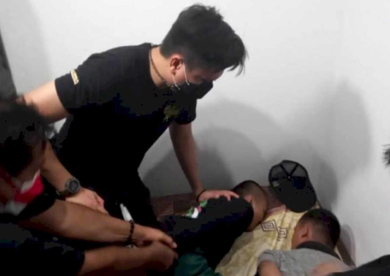 polisi berhasil amankan pelaku konvoi berujung tawuran