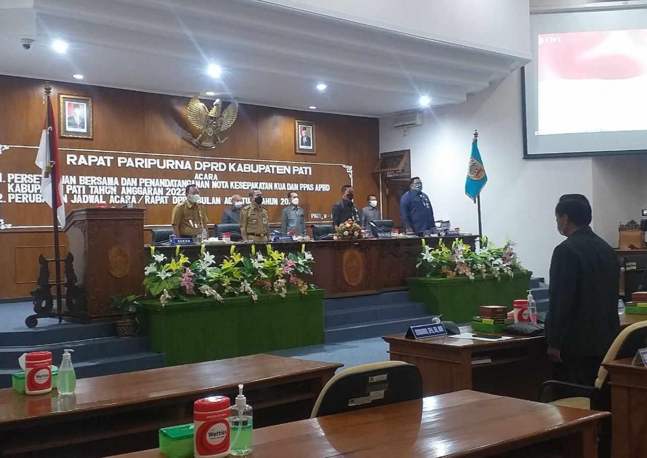 rencana apbd kabupaten pati 2022 senilai rp256 triliun