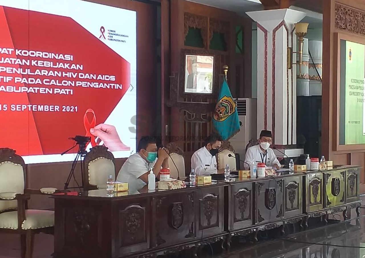 166 kasus hiv ditemukan di pati hingga agustus