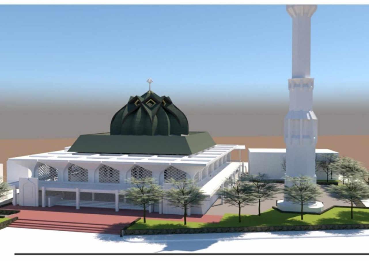 pemkab pati rogoh rp2 miliar untuk renovasi masjid agung