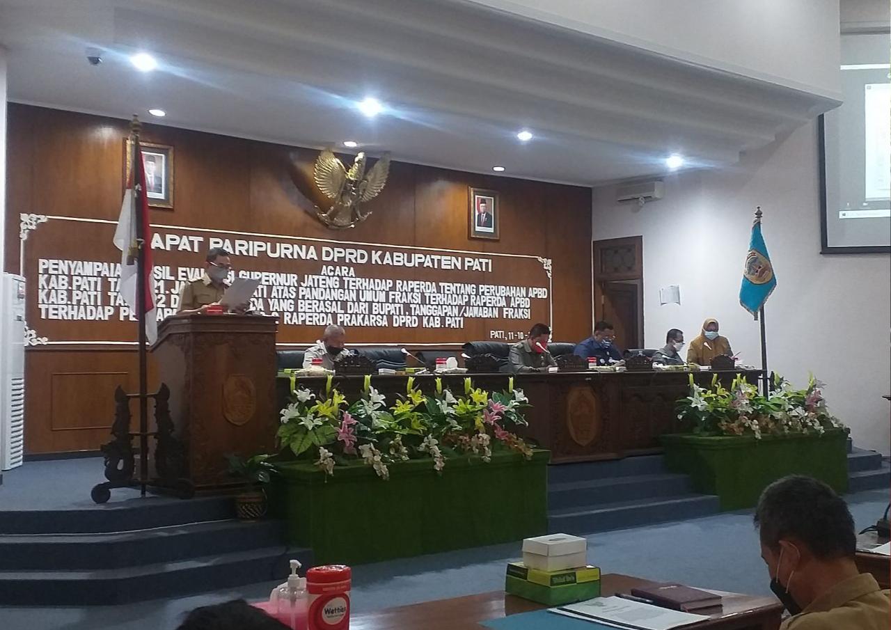 DPRD Minta Ketegasan Bupati Pati saat Kepala OPD Tak Hadiri Paripurna