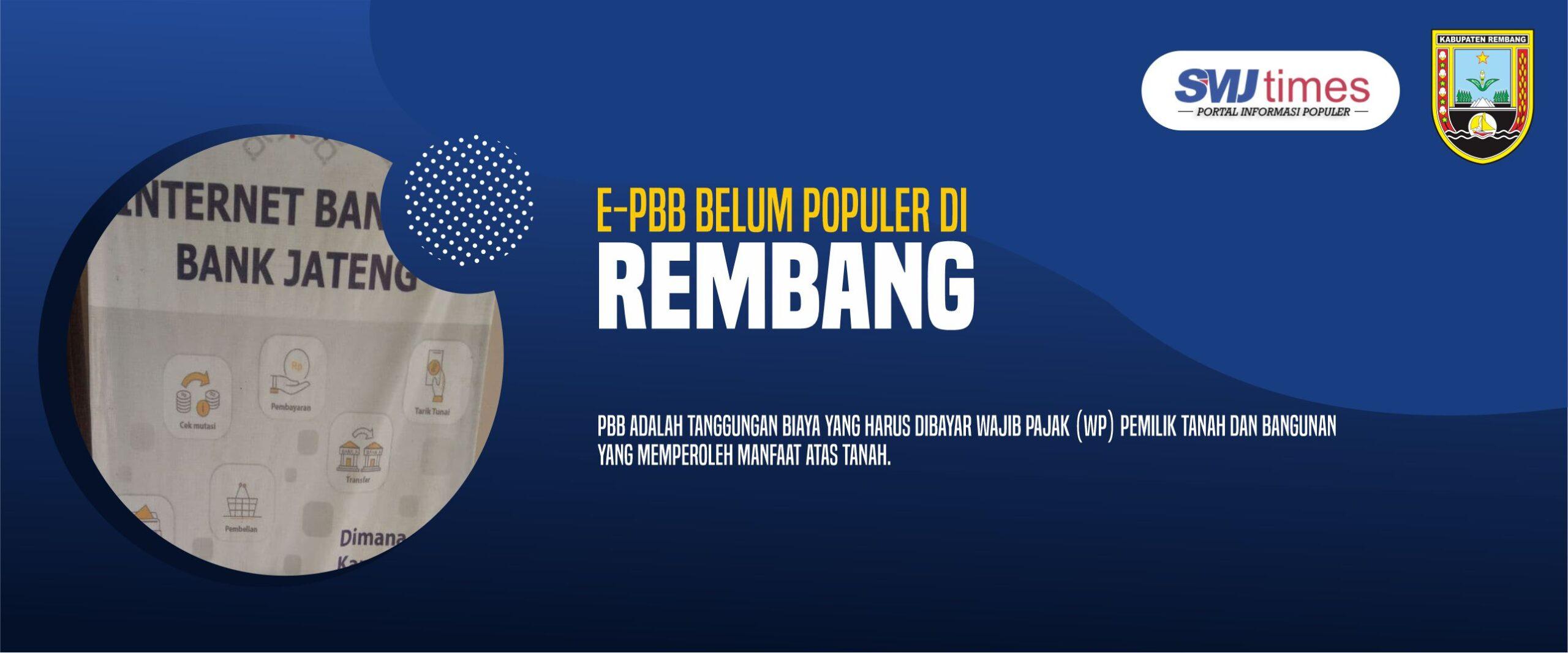 E-PBB Belum Populer di Rembang.jpg