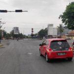 Suasana lalu lintas di rembang